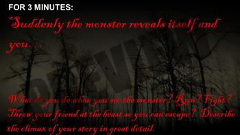 Horror / Halloween Creative Writing