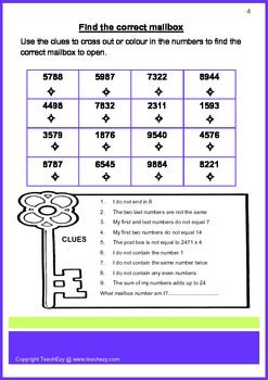 Fast Finisher Activities for Grades 5 & 6