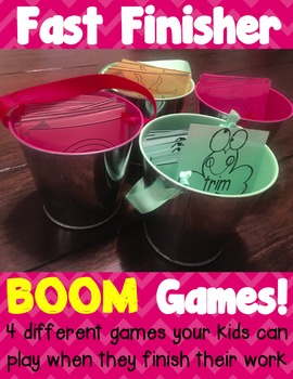 Fast Finisher BOOM games!