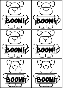 Fast Finisher BOOM games - Sight Words!