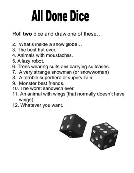 Fast Finisher Dice for Art
