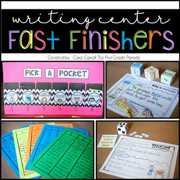 Fast Finisher Writing Activities