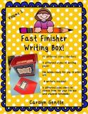 Fast Finisher Writing Box volume 1