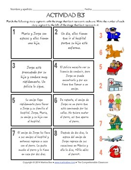 Fast Finishers Activities for Spanish: Pack B