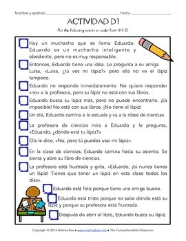 Fast Finishers Activities for Spanish: Pack D