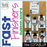 Fast Finishers Bulletin Board