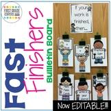 Fast Finishers: Bulletin Board