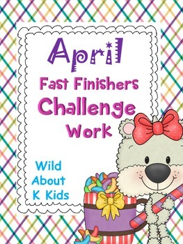 Fast Finishers Challenge Pack for April