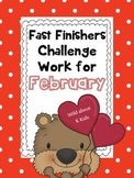 Fast Finishers Challenge Pack for February