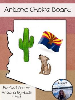 Fast Finishers Choice Board Arizona