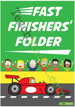 Fast Finishers' Folder – Middle Grades