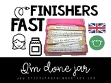 Fast Finishers. I'm Done Jar: 66 activities to attend to diversity.