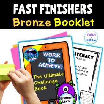 Fast Finishers Tasks or End of Term: Ultimate Challenge Book - Bronze Level