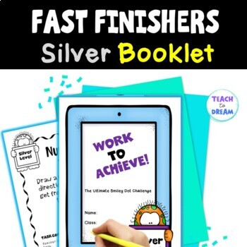 Fast Finishers Tasks or End of Term: Ultimate Challenge Book - Silver Level