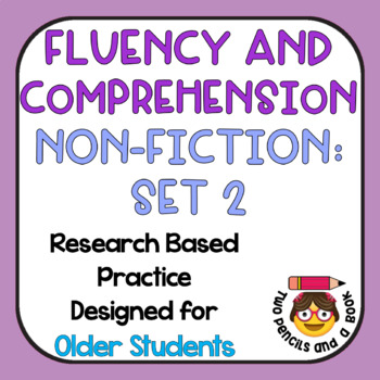 Fast Fluency Practice With Comprehension - Non-Fiction - Set 2