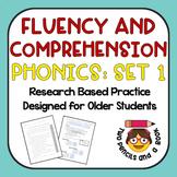Fast Fluency Practice for Older Students: Phonics Set 1 --