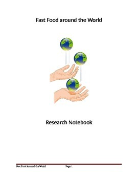 Fast Food Around the World - Asia Cultural Research Project