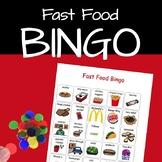 Fast Food Bingo