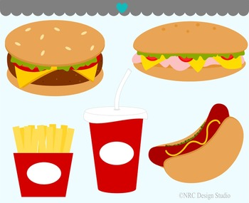 Food clipart commercial use