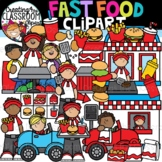 Fast Food Clipart {Food Clipart}