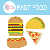 Fast Food Clipart Set