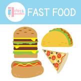 Fast Food Clipart Set