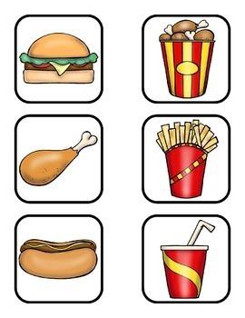 Dramatic Play:  Fast Food Fun