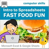 Spreadsheets for Beginners - Fast Food Fun!