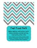Fast Food Math