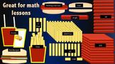 Fast Food Math Clip Art