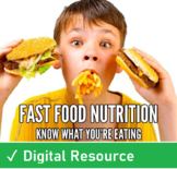Fast Food Nutrition Web Hunt