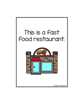 Fast Food Restaurant Mini Unit