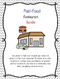 Fast Food Restaurant Bundle-Social Story, Q & A and more-Special Ed. and Autism