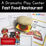 Fast Food Restaurant Dramatic Play Center