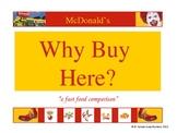 Fast Food Restaurant Nutrition
