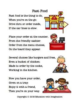Fast Food Rhyme Bundle