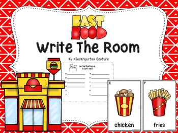 Fast Food  Write The Room