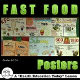 Health Lesson: Fast Food - A Fun Healthy Versus Unhealthy