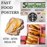 Health Lesson: Fast Food - A Fun Healthy Versus Unhealthy