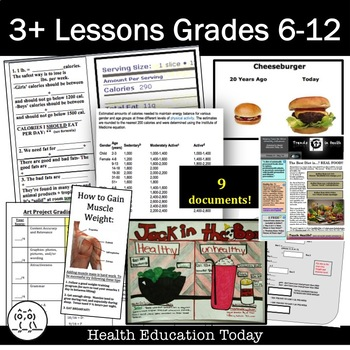 Fast Food Choices - 3 Days of Fun Lessons on How to Choose Healthier Fast Food!