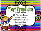 Fast Fractions -  A Fractions Take Home Game and/or Center Game