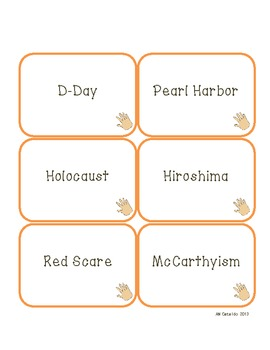 Fast Hands! A Curricular Vocabulary Review Game