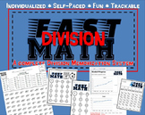 Fast Math Division- A complete Division Memorization System- Self-Paced & Fun!