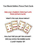 Fast Mental Addition Picture Flash Cards