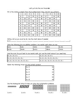 Fast Multiplication Facts - Times 6, 7, and 8
