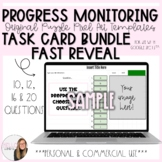 Fast Reveal Progress Monitoring Task Card Puzzle Pixel Tem