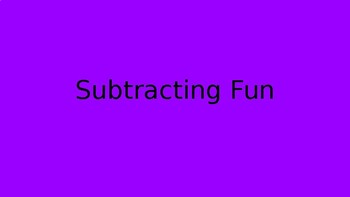 Fast Subtraction Fact Practice