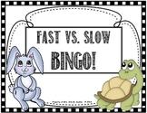 Fast Tempo vs. Slow Tempo BINGO for the Elem. Music Classroom