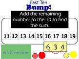 Fast Ten Bump Math Game 1.OA.3 2.OA.2