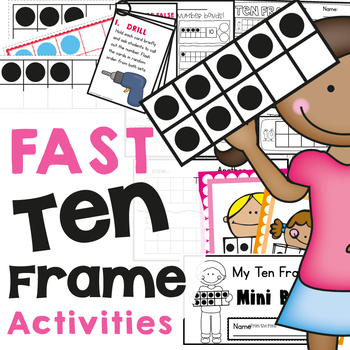Ten Frame Activities - Fast, Fun and Easy to Prep Printables by From ...